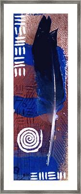 Maat Framed Print by Malik Seneferu
