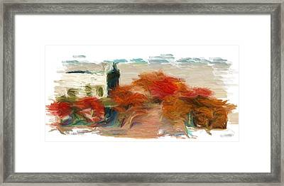 Mabe Town Framed Print by Caito Junqueira
