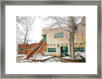 Framed Print featuring the photograph Mabel Dodge House 2 by Marilyn Hunt
