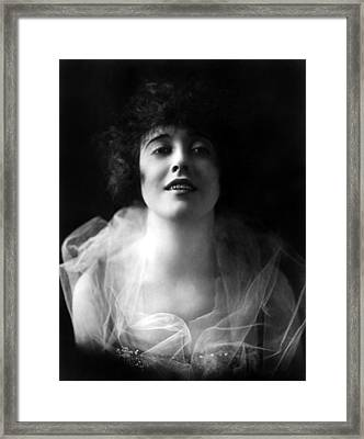 Mabel Normand, Ca. 1918 Framed Print by Everett