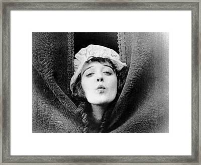 Mabel Normand, Ca. Mid-1910s Framed Print by Everett