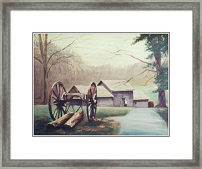 Mabreys Mill Framed Print by Barry Smith