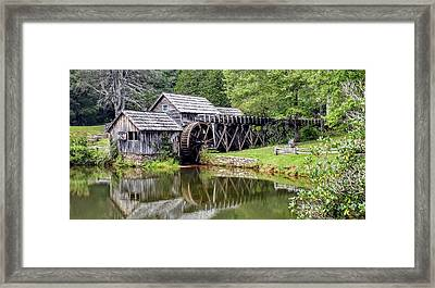 Mabry Mill Framed Print by Bill Morgenstern