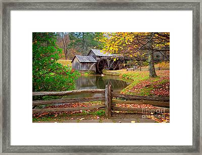 Mabry Mill Framed Print by Emmanuel Panagiotakis