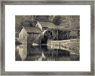 Mabry Mill Framed Print by Harry H Hicklin