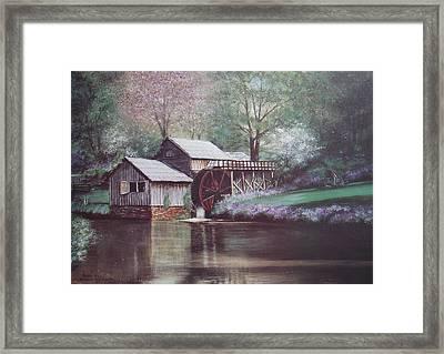 Mabry Mills Framed Print