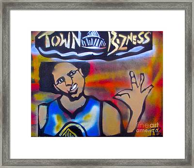 Mac Curry Framed Print by Tony B Conscious