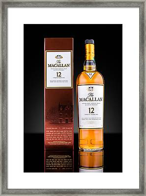 Macallan Single Malt Whisky Framed Print by Mihai Andritoiu