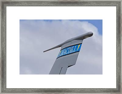 Macdill Mobile Gas Station Framed Print