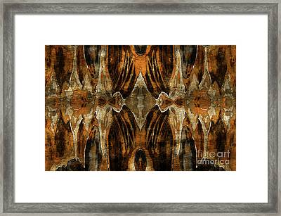 Mackerel Clouds Framed Print by Jolanta Anna Karolska