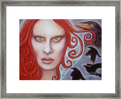 Macha Framed Print by Tammy Mae Moon