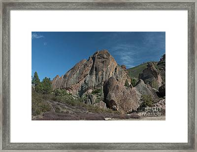Machete Ridge Lighter Framed Print