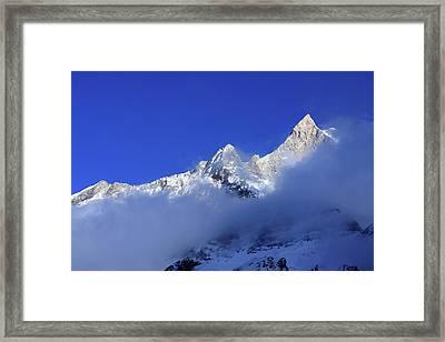 Machhapuchchhre 6993m Framed Print