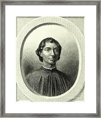 Machiavelli  Framed Print