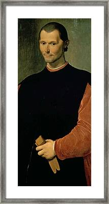 Machiavelli Framed Print