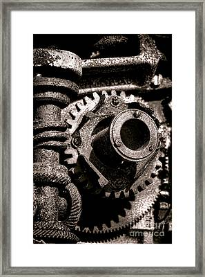Machination  Framed Print by Olivier Le Queinec