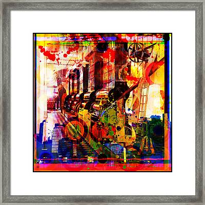 Machine Age-1 Framed Print by Gary Grayson