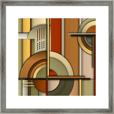 Machine Age Framed Print