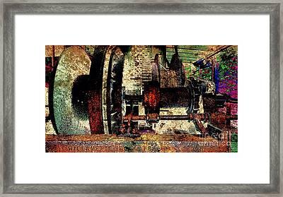 Machine Art Framed Print