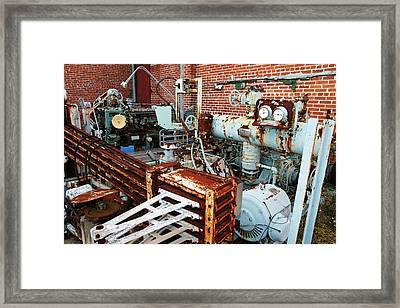 Machine Framed Print by Marcus Adkins