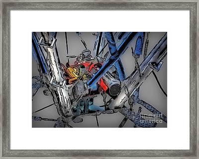 Machinery 4 Framed Print by Walt Foegelle