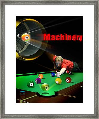 Machinery Framed Print by Draw Shots