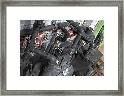 Machinery Framed Print