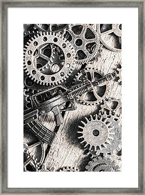 Machines Of Military Precision  Framed Print by Jorgo Photography - Wall Art Gallery