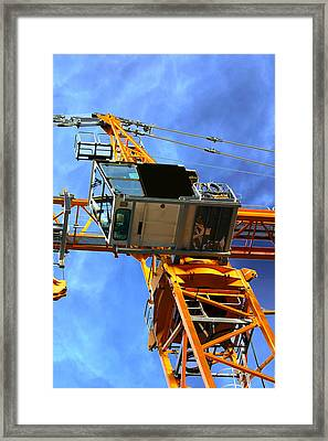 Machines-swedish Flag Framed Print by Robert Litewka