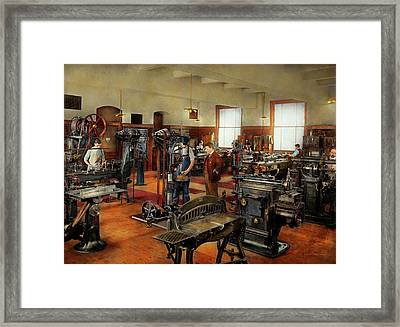 Machinist - The Standard Way 1915 Framed Print