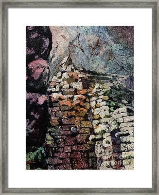 Machu Picchu Ruins- Peru Framed Print by Ryan Fox