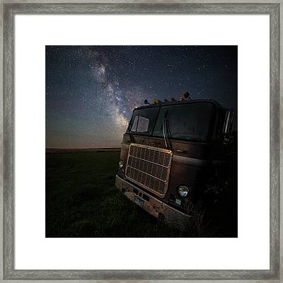 Framed Print featuring the photograph Mack by Aaron J Groen