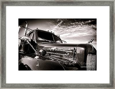 Mack B61 Ghost Framed Print by Olivier Le Queinec