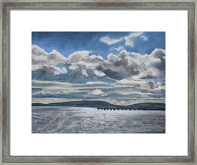 Mack Point, Searsport Framed Print by Grace Keown