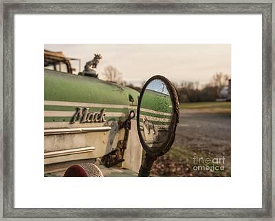 Mack Reflection Framed Print