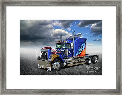 Mack Truck Framed Print by Stephan Grixti