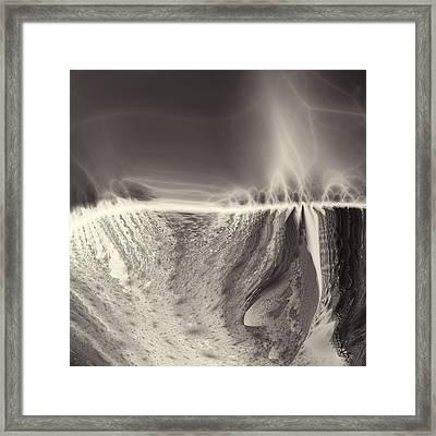 Mackenzie Gorge Framed Print by Vic Eberly