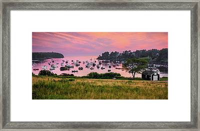 Mackerel Cove Framed Print by Benjamin Williamson