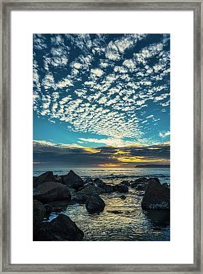 Mackerel Sky Framed Print