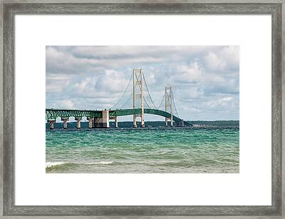 Mackinac Bridge Framed Print