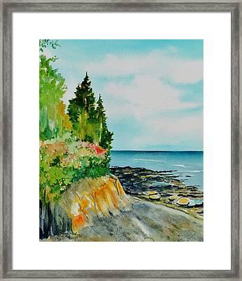 Mackworth Island Maine  Framed Print