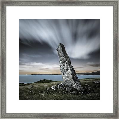 Macleod's Stone Framed Print