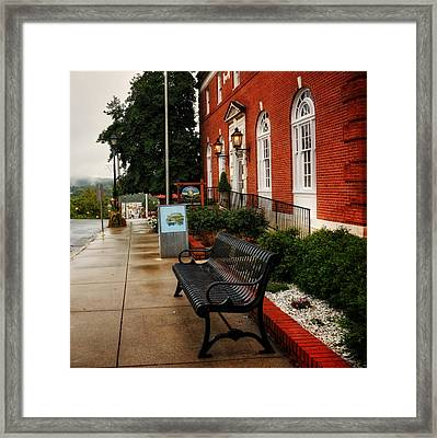 Macon County Emergency Services Framed Print by Greg Mimbs