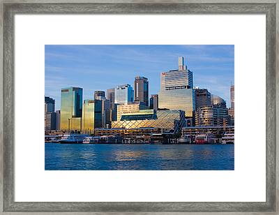 Framed Print featuring the photograph Macquarie Sunset by Charles Warren