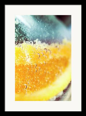 Tangy Framed Prints