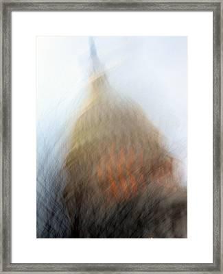 Mad Capitol Framed Print by Sean Owens