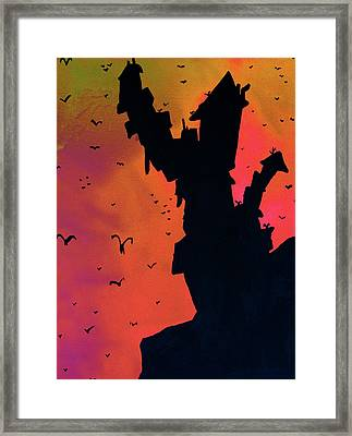 Mad Castle On A Hill 3 Framed Print