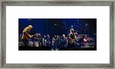 Mad Dogs And Englishmen Tribute To Joe Cocker Featuring Tedeschi T Framed Print