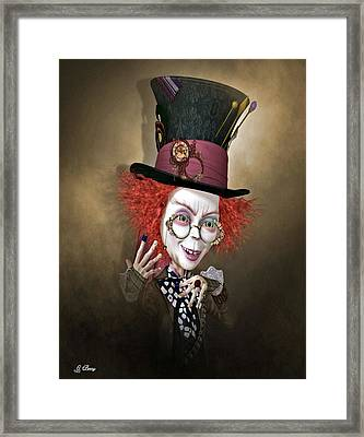 Mad Hatter Framed Print by G Berry
