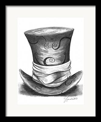 Mad Hatter Framed Prints